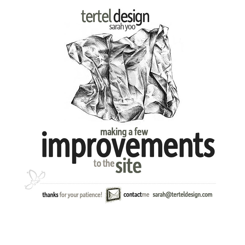 Tertel Design is down....
